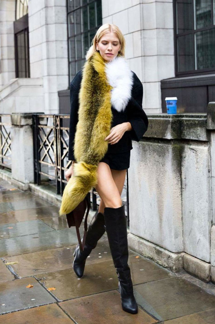 Oversized fur Inspiration