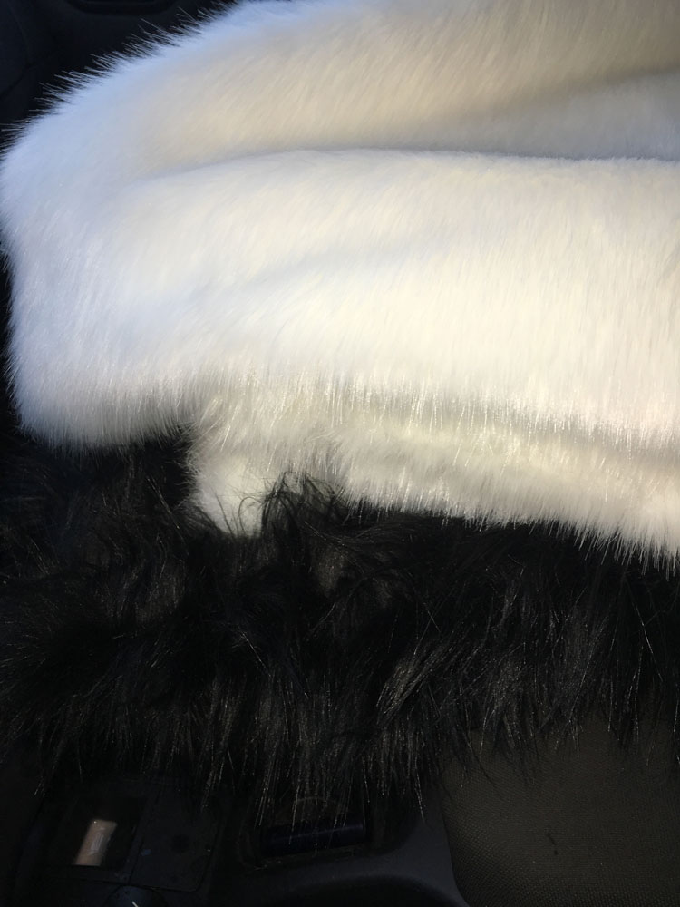 Faux fur I'm working with